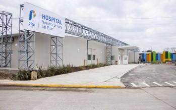 Ducoté inauguró maternidad financiada con fondos de una papelera contaminante
