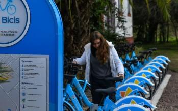 """En Escobar empieza a funcionar """"Las Bicis"""" el nuevo sistema público de bicicletas"""