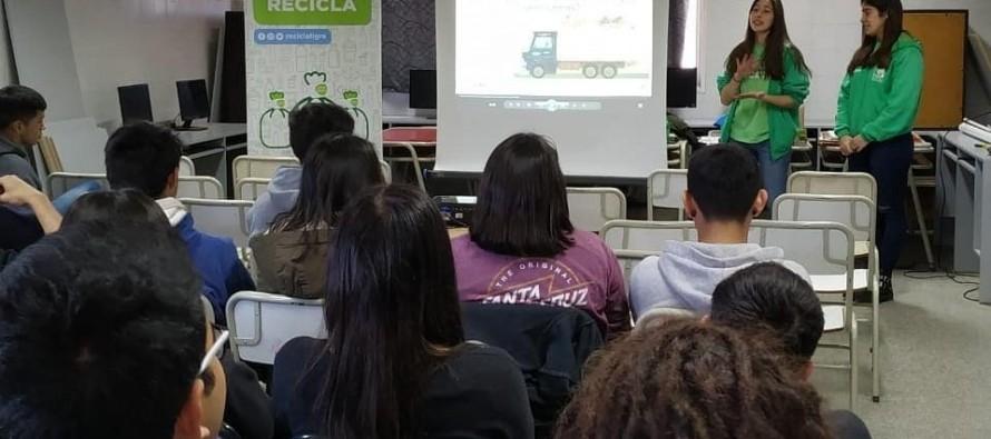 Reciclá Tigre: charlas en escuelas sobre separación en origen y cuidado del ambiente