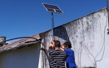 Se instalaron paneles solares en las islas de Campana