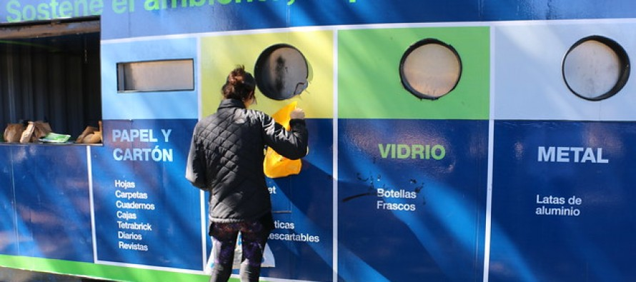 San Isidro instaló tres containers para separación de residuos