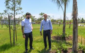 San Fernando: el Parque del Bicentenario suma hectáreas, especies arbóreas y huerta orgánica