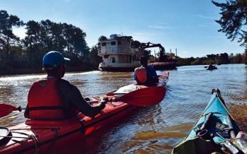 Tres días a puro kayak por la Reserva de Biósfera del Delta
