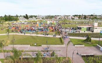 San Fernando inauguró la ampliación del Parque del Bicentenario