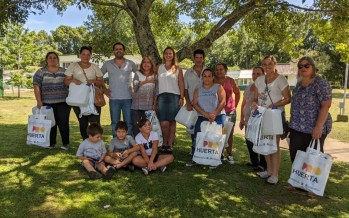 Entrega de filtros de agua para los pobladores del Delta Medio del Paraná
