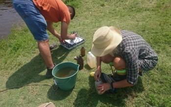 El Comité de Cuenca del Río Luján realizó un muestreo para evaluar la calidad del agua