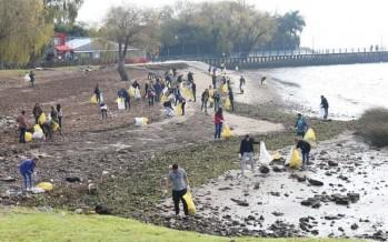 San Isidro organiza la primera jornada del año de limpieza del río