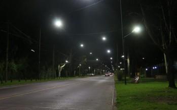 San Isidro avanza con la instalación de luces LED