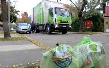 Cambio de hábito: en 60 mil hogares de Tigre ya clasifican la basura