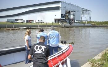 Tigre clausuró una empresa por contaminación en el Río Luján