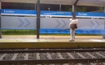 Coronavirus: la Municipalidad de Escobar intensifica la desinfección de los refugios de de transporte, colectivos y el espacio público