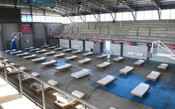 Escobar: habilitó 50 camas en el Microestadio y en la UDP Garín para atender casos de coronavirus