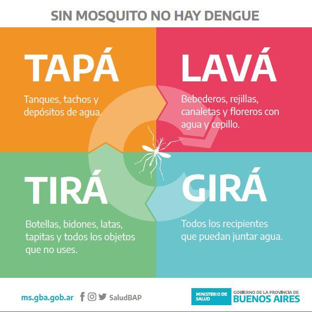 Sin mosquito no hay dengue