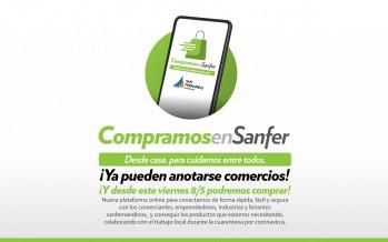 """""""Compramos en Sanfer"""": el Municipio de San Fernando lanzó la plataforma que promueve el comercio local"""