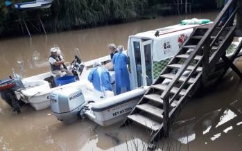 San Fernando: continúan los operativos de salud en el Delta