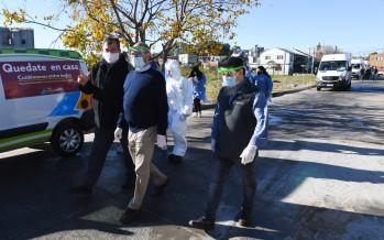 San Fernando: Municipio y Hospital Cordero realizan operativos de control de coronavirus y dengue