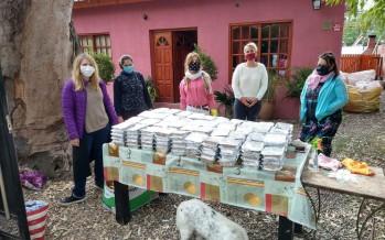 Repartir alimentos y educar para el cuidado del ambiente, dos misiones en medio de la pandemia del coronavirus