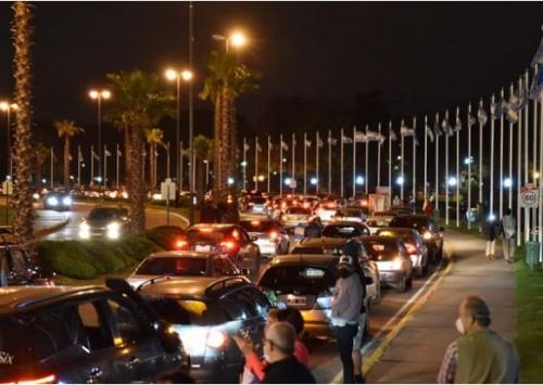 Pese a la advertencia de la Policía, en Tigre realizaron una caravana en contra de la cuarentena