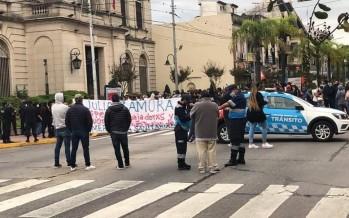 Coronavirus: en plena emergencia sanitaria trabajadores de Tigre se manifestaron por despidos