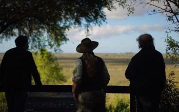 El ministro Cabandié visitó el Parque Nacional Ciervo de los Pantanos y el Bosque de la Memoria