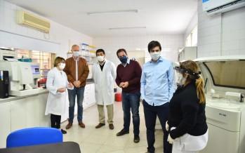 Escobar: Daniel Gollan y Federico Thea visitaron junto al intendente el ex Sanatorio San Carlos