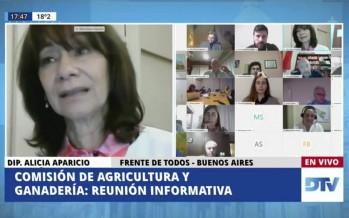 INTA Delta: la diputada Alicia Aparicio planteó la necesidad de cubrir las vacantes del organismo