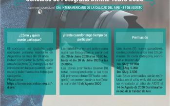 Se lanzó un concurso fotográfico para conmemorar el Día Internacional del Aire