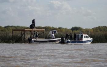 Demuelen un muelle ilegal en una isla de San Isidro que intentaron usurpar