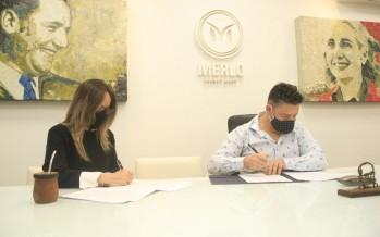 Malena Galmarini y Gustavo Menéndez trabajan en conjunto para ampliar la cobertura de agua y cloaca en Merlo