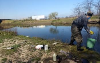 La Provincia realizó el muestreo otoñal de calidad de agua en la Cuenca del Río Luján