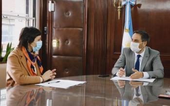 """Cabandié y Mendoza firmaron un convenio para el proyecto """"Ecoparque Socioambiental Quilmes"""""""