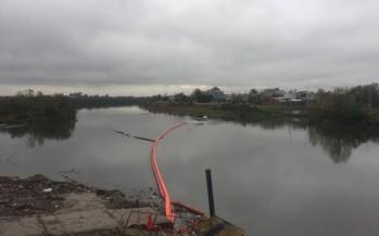 Nuevas barreras de contención de residuos en Tigre