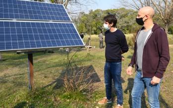 Energía sustentable: el Municipio de San Fernando instaló paneles solares en el delta