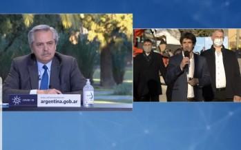 Alberto Fernández anunció un Plan de Obras Ferroviarias para San Fernando, Escobar y Malvinas Argentinas