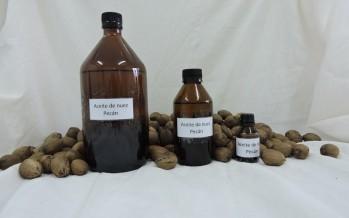 Evalúan la calidad del aceite de nuez pecán