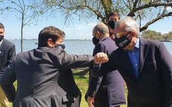 Zamora acompañó a Kicillof en la presentación del Fondo Municipal para la Reactivación Cultural y Turística