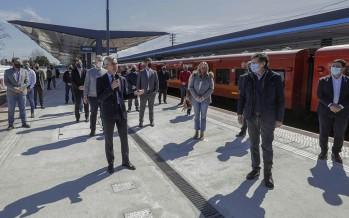 Quedó inaugurada la remodelada estación Boulogne Sur Mer de la Línea Belgrano Norte