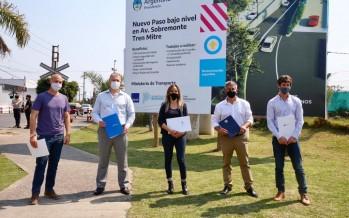 AySA firmó un convenio con San Fernando para la construcción de obras complementarias en un túnel