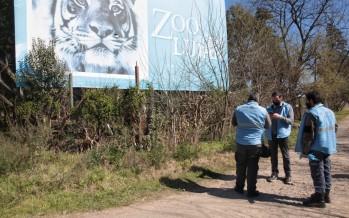El Ministerio de Ambiente clausuró de manera preventiva y total el zoológico de Luján