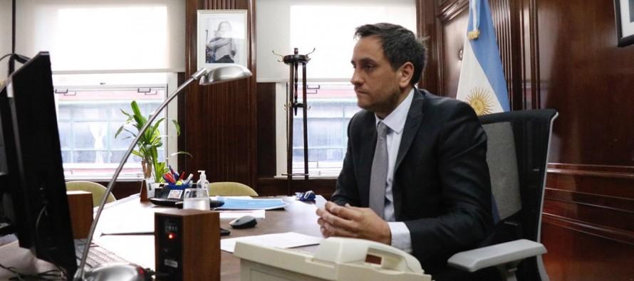 Cabandié participó de la reunión de ministros de Ambiente del G20