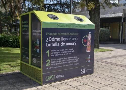 Botellas de Amor: el Municipio de San Isidro firmó un convenio para ser centro de acopio