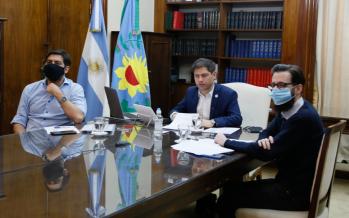 Vicente López y Escobar entre los 44 municipios para los que se anunciaron obras de infraestructura