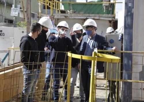 El ministro de Infraestructura de Provincia recorrió obras de la cuenca del río Reconquista