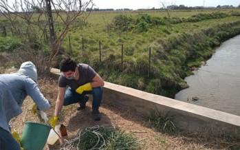 El Comité de Cuenca del Río Luján realizó un nuevo muestreo de calidad