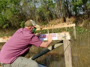Clausuras en el delta de Tigre