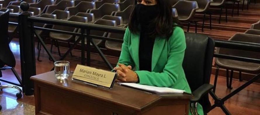 """Mayra Mariani: """"El reciclado es algo que el municipio no lo tiene en carpeta"""""""