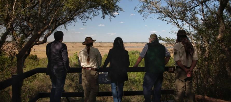 Cabandié visitó el Parque Nacional Ciervo de los Pantanos en el Día del Guardaparque