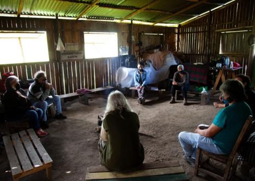 Comunidades aborígenes de Tigre y Escobar se reunieron en Punta Querandí para unificar luchas