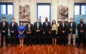 El presidente firmó un convenio con la CAF para el financiamiento de obras en la cuenca del Río Luján