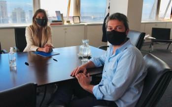 Galmarini y Lammens buscan financiamiento para limpiar la Pista Nacional de Remo